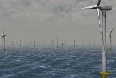 Sheringham Shoal wind farm at Doggers bank